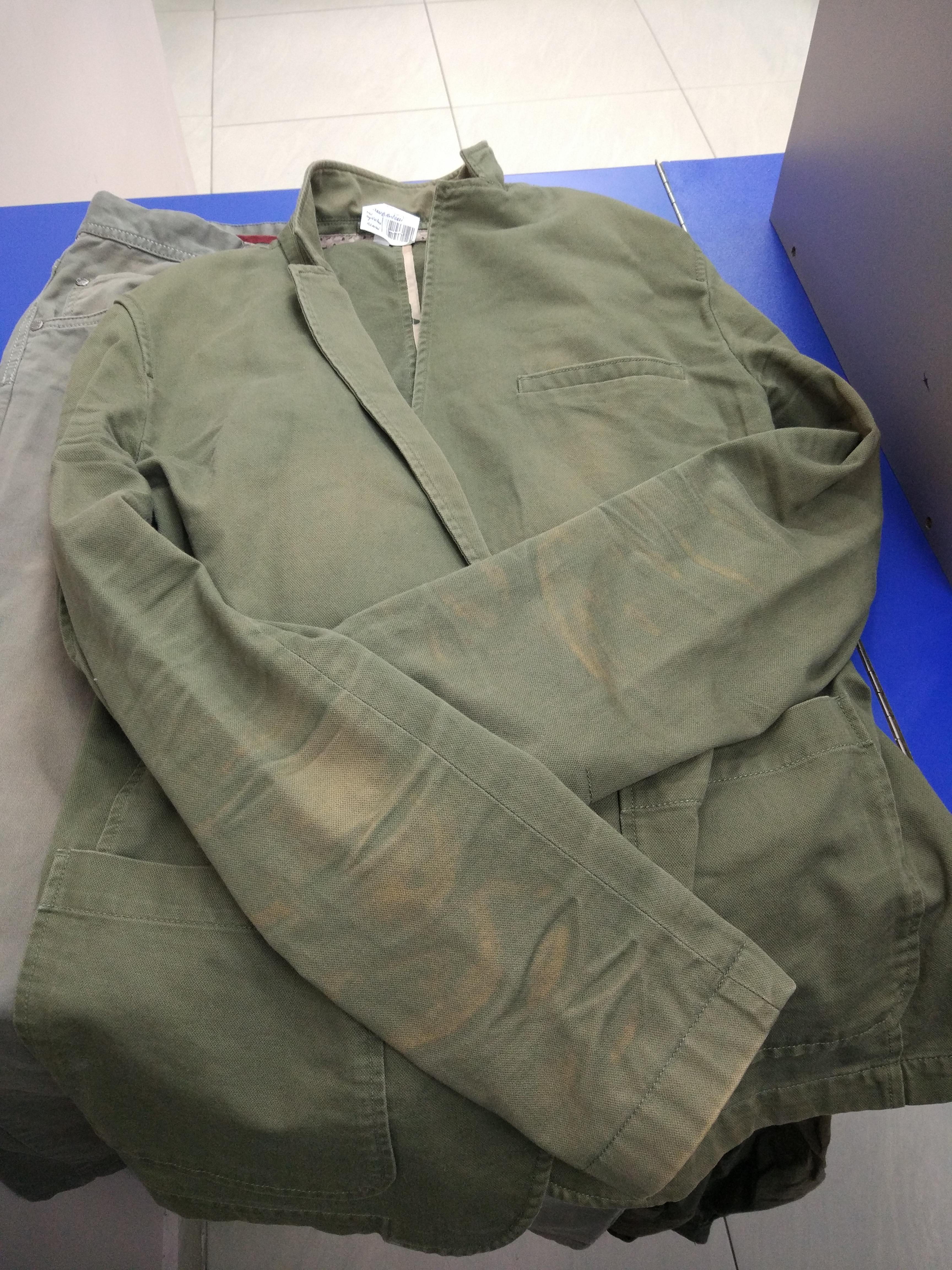 Before-Окраска пиджака