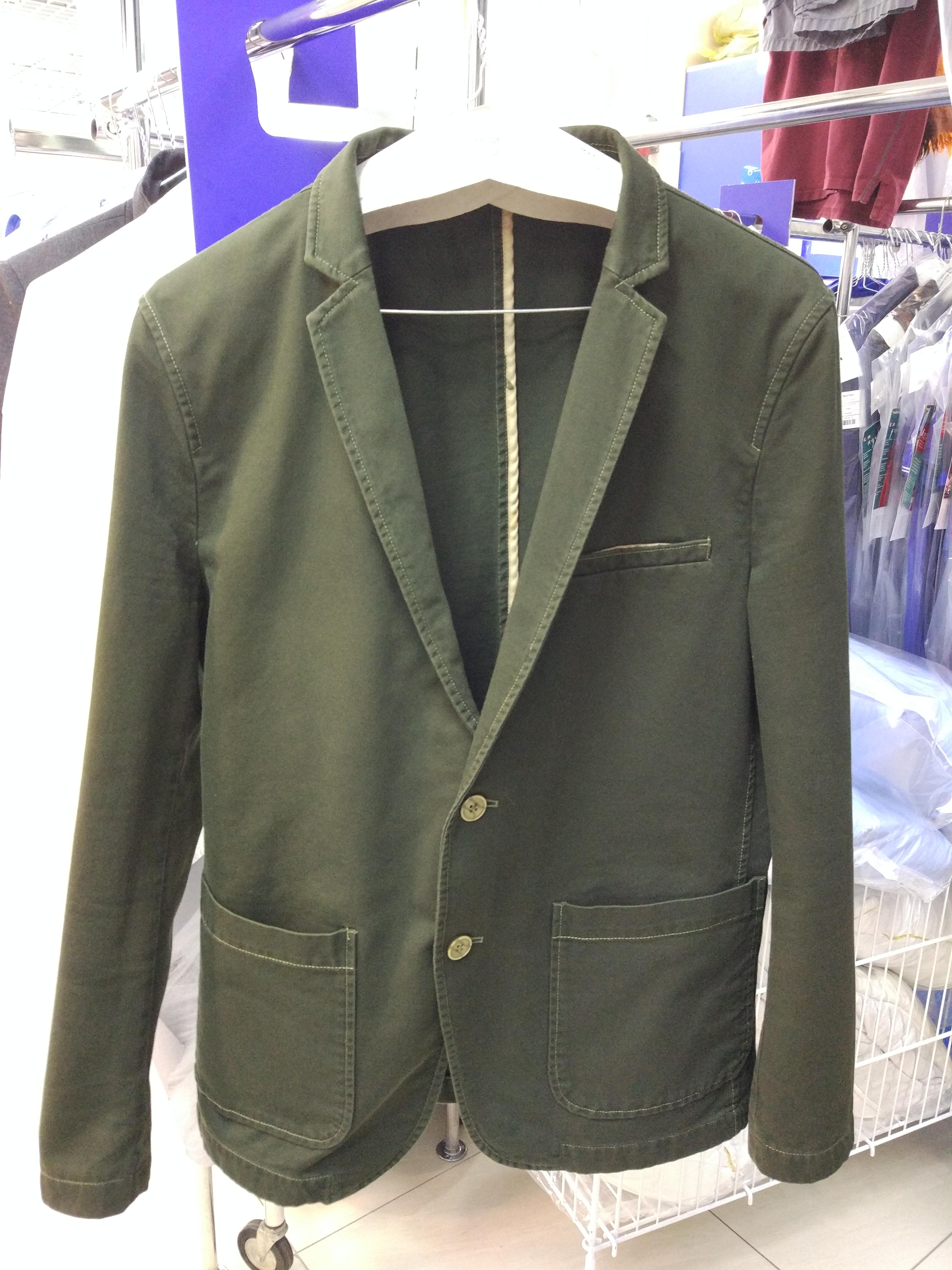 After-Окраска пиджака